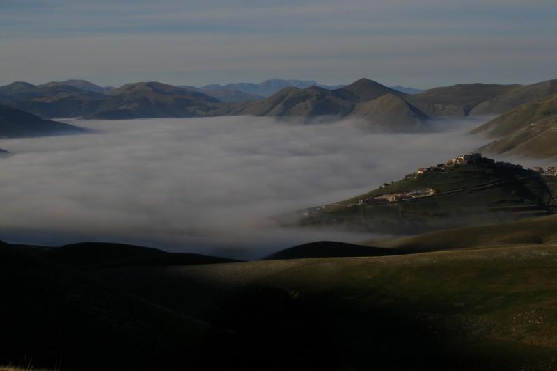 ''Vivere sopra un lago di nuvole'' - Norcia