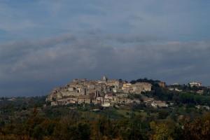 Panorama di Castiglione in Teverina