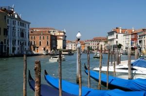 Venezia e le gondole