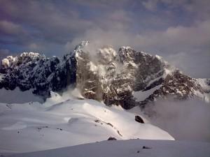 Veduta dallo Chalet dell'Aquila - Un paesaggio che parla da solo