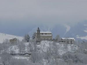 sotto la neve…..