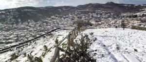 Prima neve su Santu Lussurgiu