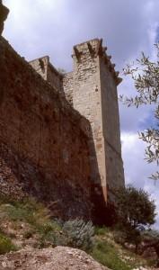 Bosa, Una veduta della torre del Castello dei Malaspina.