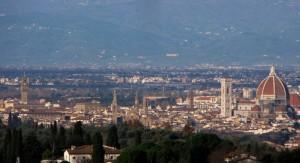 Firenze vista dalle colline
