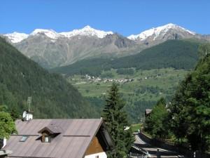 Vista del Parco Nazionale dello Stelvio.