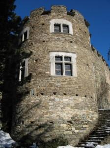 Il torrione del castello