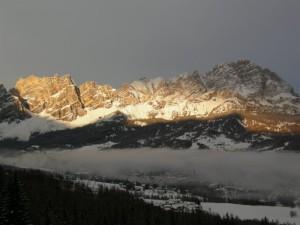 una cortina….a Cortina