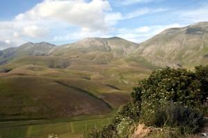 Il monte Argentella da Castelluccio