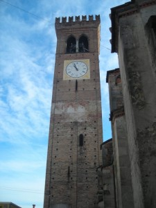 Torre d'avvistamento, diventata poi campanile