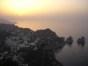 L'incantevole alba di Cetrella