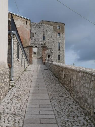 Montesarchio - L'ingresso al Bastione