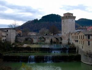 Torre e cascata