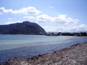La spiaggia di Mondello Palermo