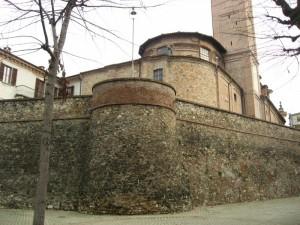 Le mura di Volpedo