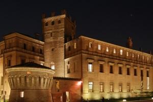 Notturno con castello
