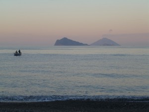 tramonto alle Eolie