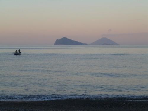Lipari - tramonto alle Eolie