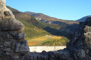 autunno da Castel Beseno
