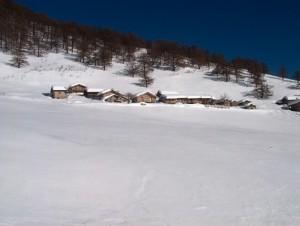 inverno all' alpe di mezzo