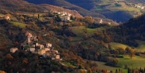 Fiastra- panorama di San Maroto