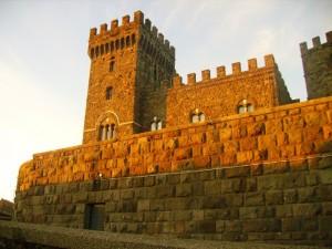 Torre Alfina, si avvicina il tramonto