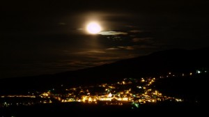 baciata dalla luna…..