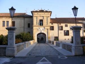 Su Porta Friuli il simbolo della Repubblica Veneta