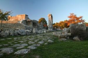 L'antico panorama…