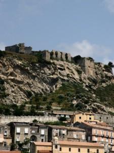 Resti del castello di Amantea
