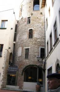 un'antica torre