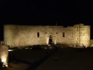 Castel Maniace by night