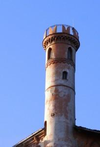 La torre del Castello del Conte Cays