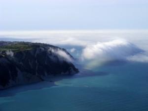 Nebbia sul promontorio