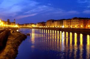 Le luci di Pisa