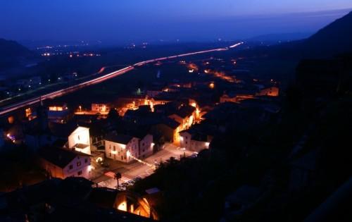 Quassolo - Quassolo, panoramica notturna