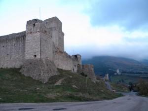 Burrasca sul castello federiciano