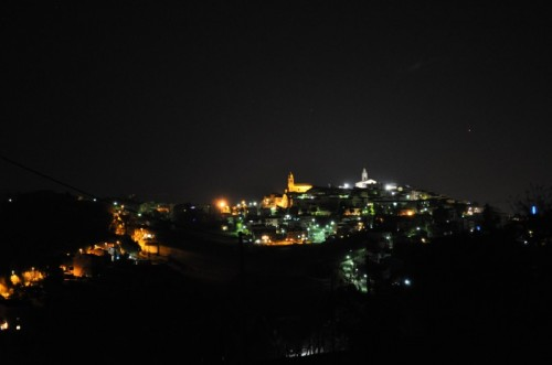 Corridonia - notte  di luci