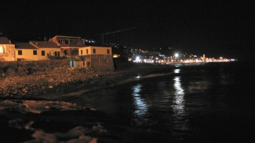 Riva Ligure - riva by night
