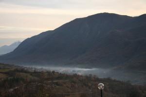 castellafiume e la sua valle