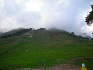 Nubi sulla montagna
