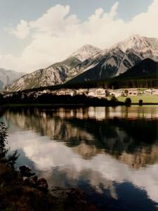 S.Valentino riflesso sul lago