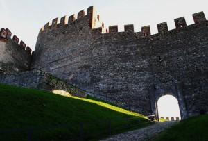 Castello di Soave - La seconda cerchia di mura