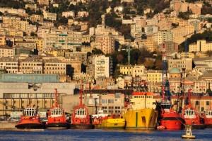 Genova rimorchiatori e… panorama