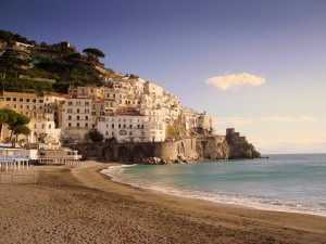 Spiaggia di Amalfi.