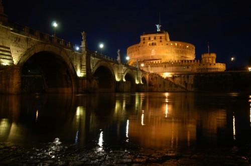 Roma - Dopo l'alluvione...Castel Sant'Angelo