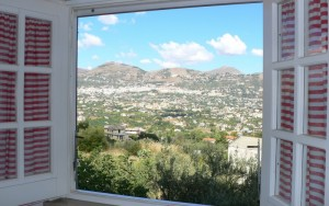 Dalla finestra..a voi..Monreale…