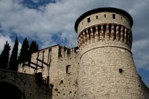 Il ponte levatoio del Castello di Brescia