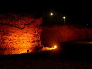 luci sulle mura