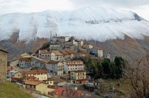 Prima neve a Castelluccio