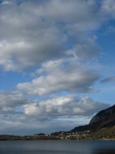 Morbide nubi sopra Suello